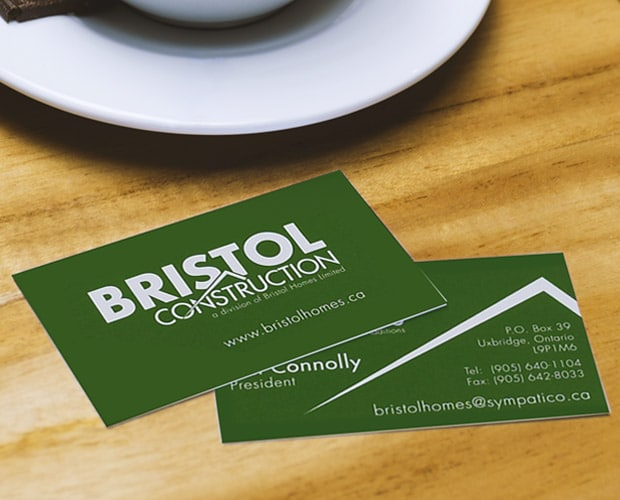 Bristol Homes Business Cards