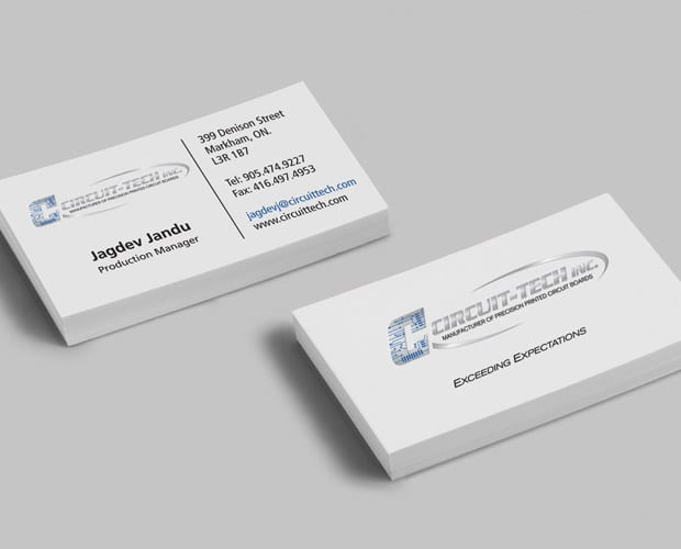 Custom business cards markham gibson printing circuit tech business cards colourmoves Image collections