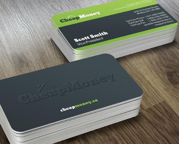 Cheap Money Business Cards