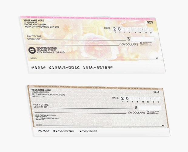 Custom Printed Cheques
