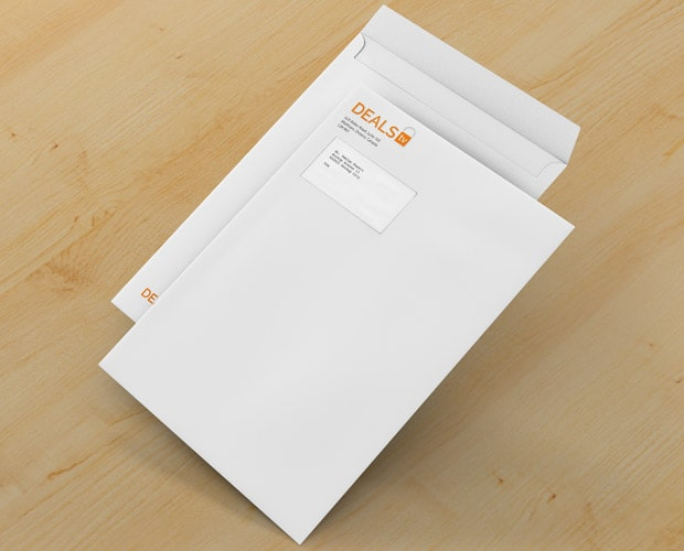 Deals TV Envelope