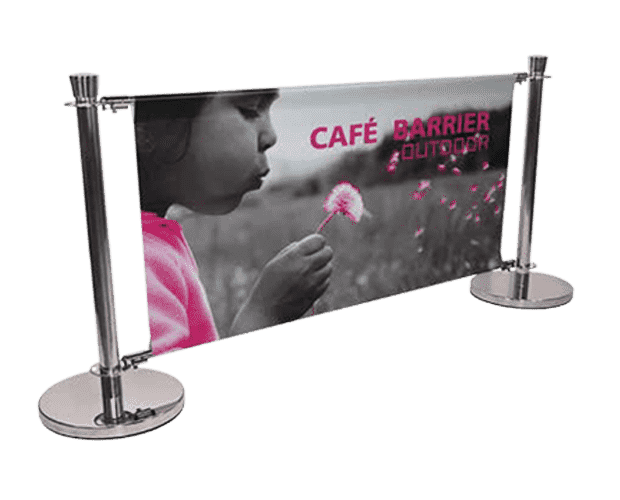 Outdoor Display Berrier